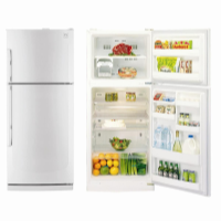 DAEWOO 405L WHITE FRIDGE-FREEZER *NEW*