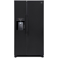 DAEWOO 608L BLACK DOUBLE-DOOR FRIDGE-FREEZER *NEW*