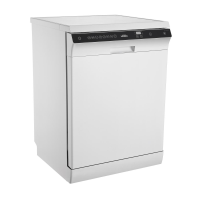 IMPRASIO 14-PLACE WHITE DISHWASHER *NEW* SO QUIET!