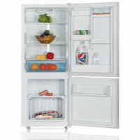 IMPRASIO 289L S/S FRIDGE-FREEZER *NEW*