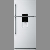 DAEWOO 510L WHITE FRIDGE-FREEZER *NEW*