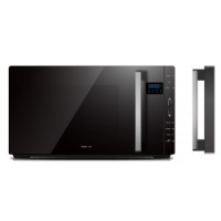 VOGUE FLATBED MICROWAVE BLACK