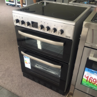 IMPRASIO 60CM S/S ELECTRIC STOVE *NEW* TWO OVENS!