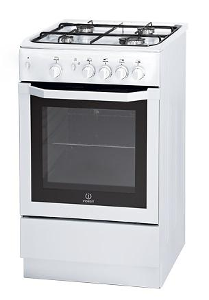Indesit 50cm White Full Gas Gas Stove New