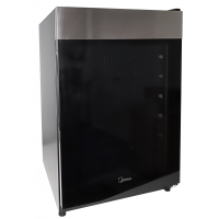 MIDEA 130L WINE FRIDGE W/GLASS SHELVES *NEW*