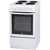 INDESIT 50CM WHITE ELECTRIC STOVE *NEW*
