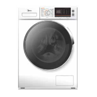 MIDEA 10KG / 7KG WASHER-DRYER COMBO *NEW*